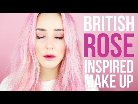 British Rose Inspired Make Up Tutorial + Ombre Lips!   by tashaleelyn