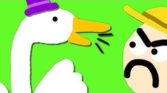 Zombey ist eine nervige Gans. (Goose Game #1)