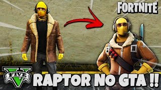 TOP 5 FORTNITE SKINS IN GTA V ONLINE!!!!