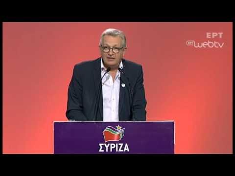 Πιερ Λοράν στο #2oSynedrio: Είστε όρθιοι και εμείς είμαστε δίπλα σας