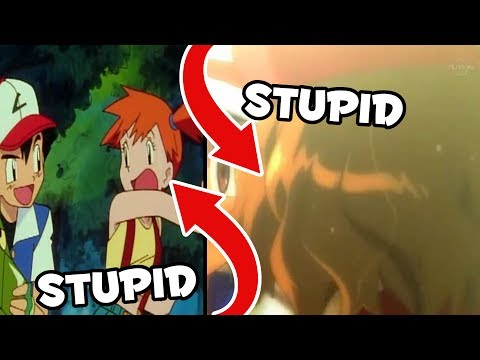 The STUPIDEST SHIPS of the POKEMON ANIME!! | Pokemon Sun and Moon Anime Ships | Amourshipping