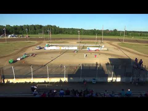 Mini Wedge Heat #1 at Crystal Motor Speedway on 07-07-2018