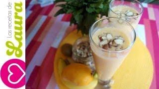 Desayuno Saludable♥licuado De Mango♥las Recetas De Laura♥ Batido De Mango♥mango Smoothie