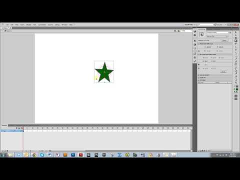 Moving Objects in 3D Space in Adobe Flash Tutorial