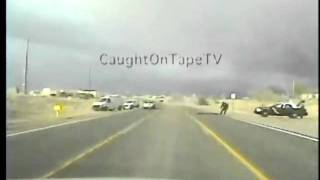 TEENAGE GIRLS LEAD POLICE ON HIGH SPEED CHASE!