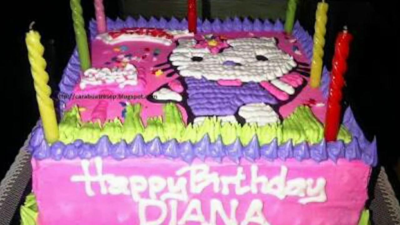 Selamat Ulang Tahun Diana