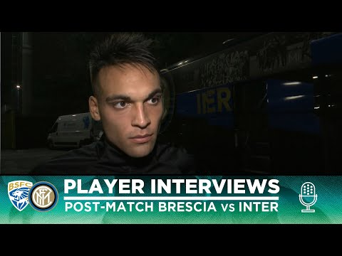 BRESCIA 1-2 INTER | LAUTARO + DE VRIJ + CANDREVA INTERVIEWS
