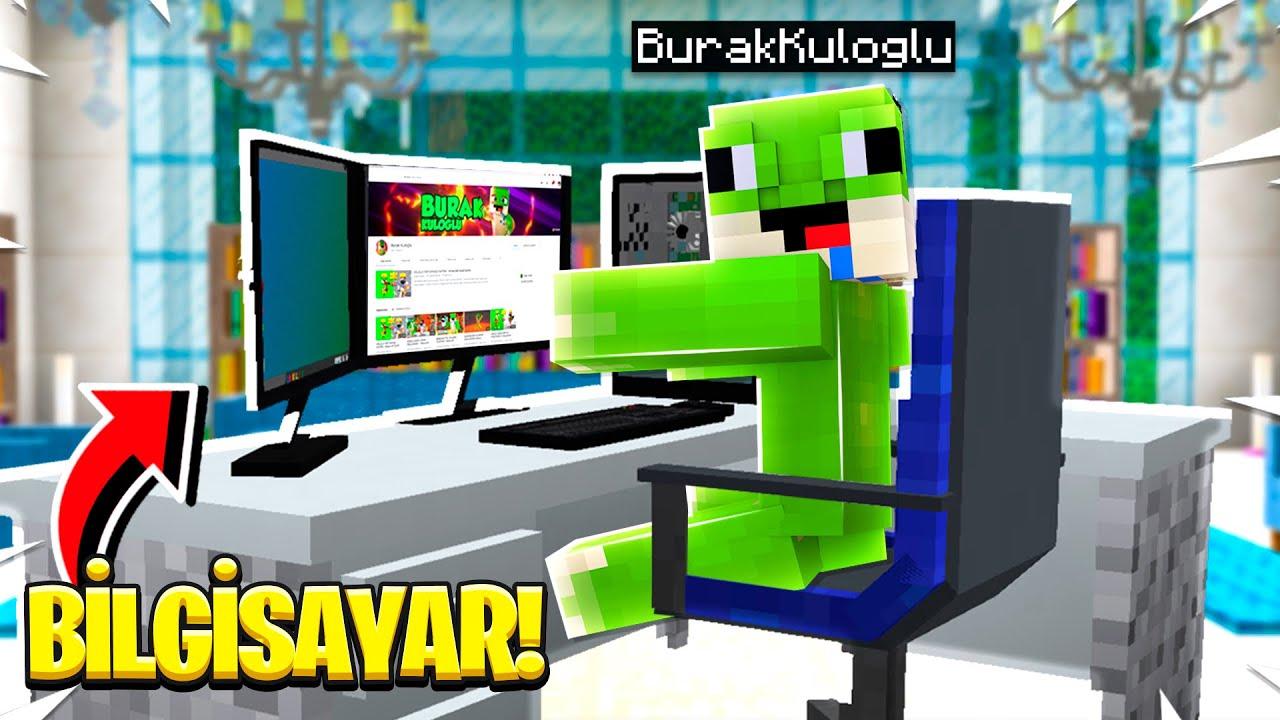 MINECRAFT'ta ÇALIŞAN BİLGİSAYAR! - Minecraft