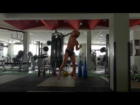✓Half Maratón (30') Swing 360° ✓Maza 10kg ✓1.093 rep #MaceTraining