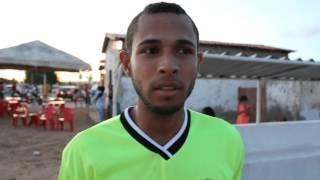 Bruce goleiro do time de Biritinga fala da estreia no Municipal 2014 com derrota 1 a 0 para Montanha