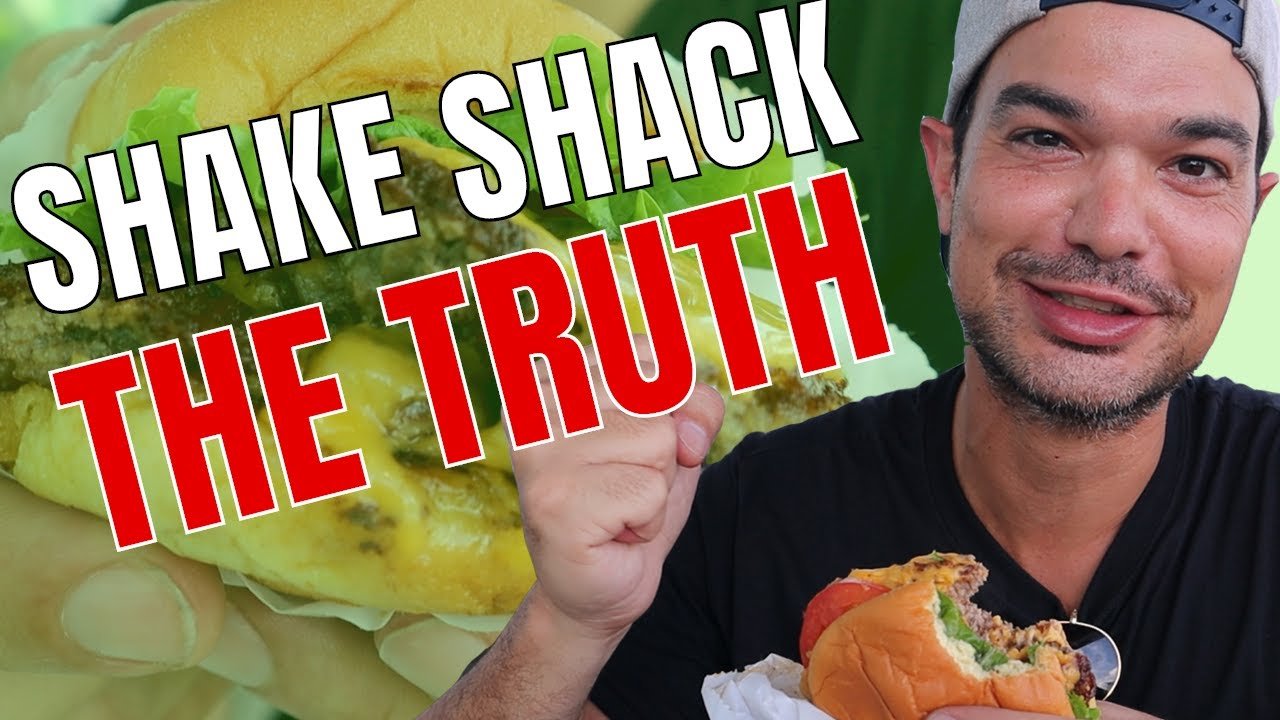 Shake Shack Burger First Time REVIEW 2020
