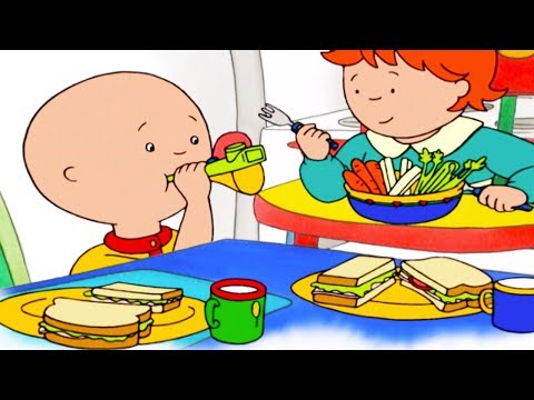 Caillou English Full Episodes | Caillou and the Loud Lunch | Cartoon Movie | Cartoons for Kids