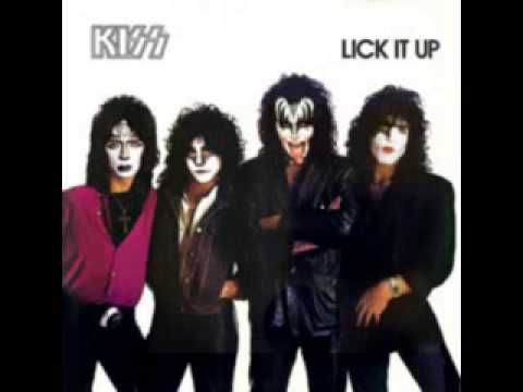 Kiss album lick it up