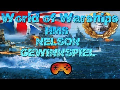 HMS Nelson Gewinnspiel - World of Warships - Deutsch/German - World of Warships