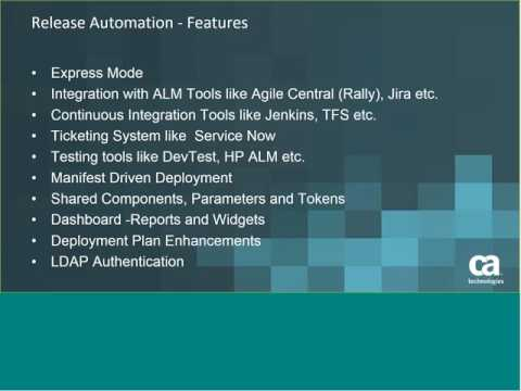February 2017 - Release Automation Community Webcast - RA Integration with Team  Foundation Server