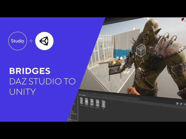 Daz Bridges Tutorial - Daz to Unity