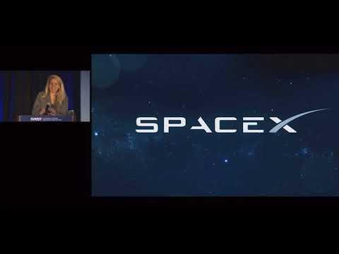 SPACEX:  Gwynne Shotwell talks at TAMEST 2018.