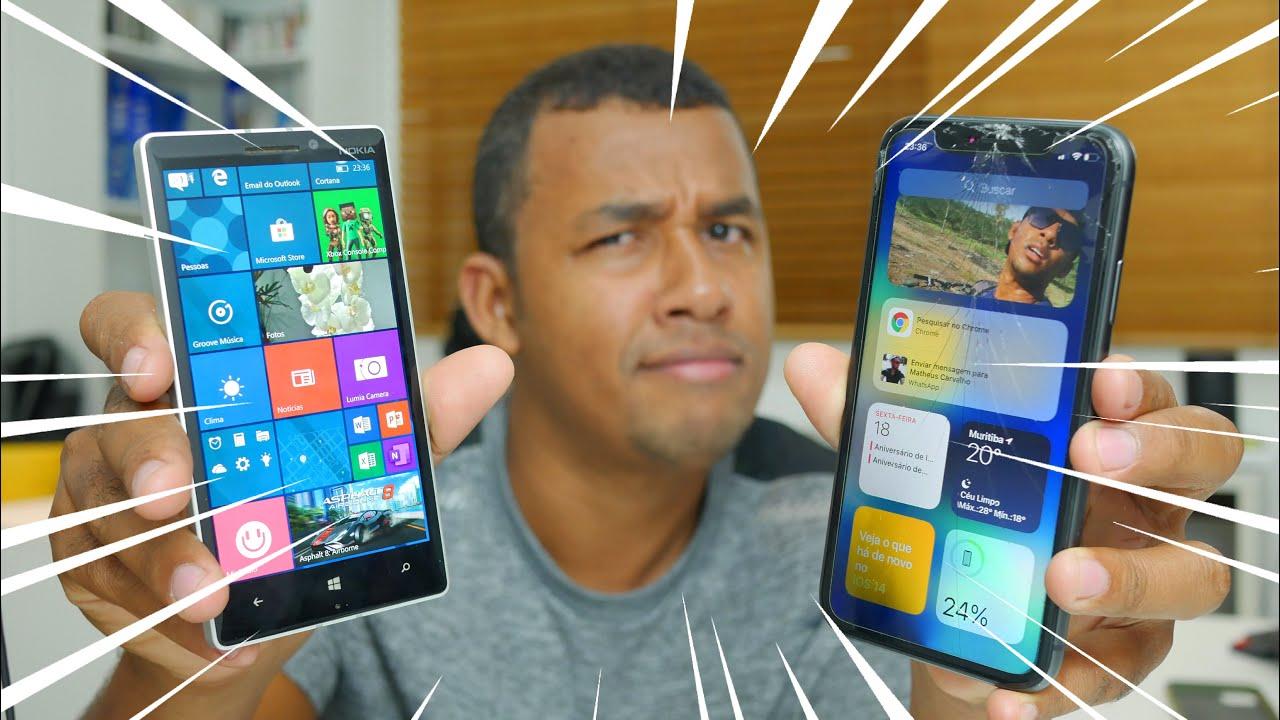 Apple copiou descaradamente funções do Windows Phone para o iOS 14?