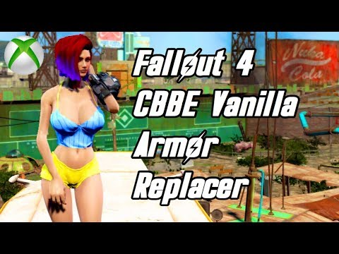 Fallout 4 - CBBE Vanilla Armor Replacer! (Xbox One) (DOWN)
