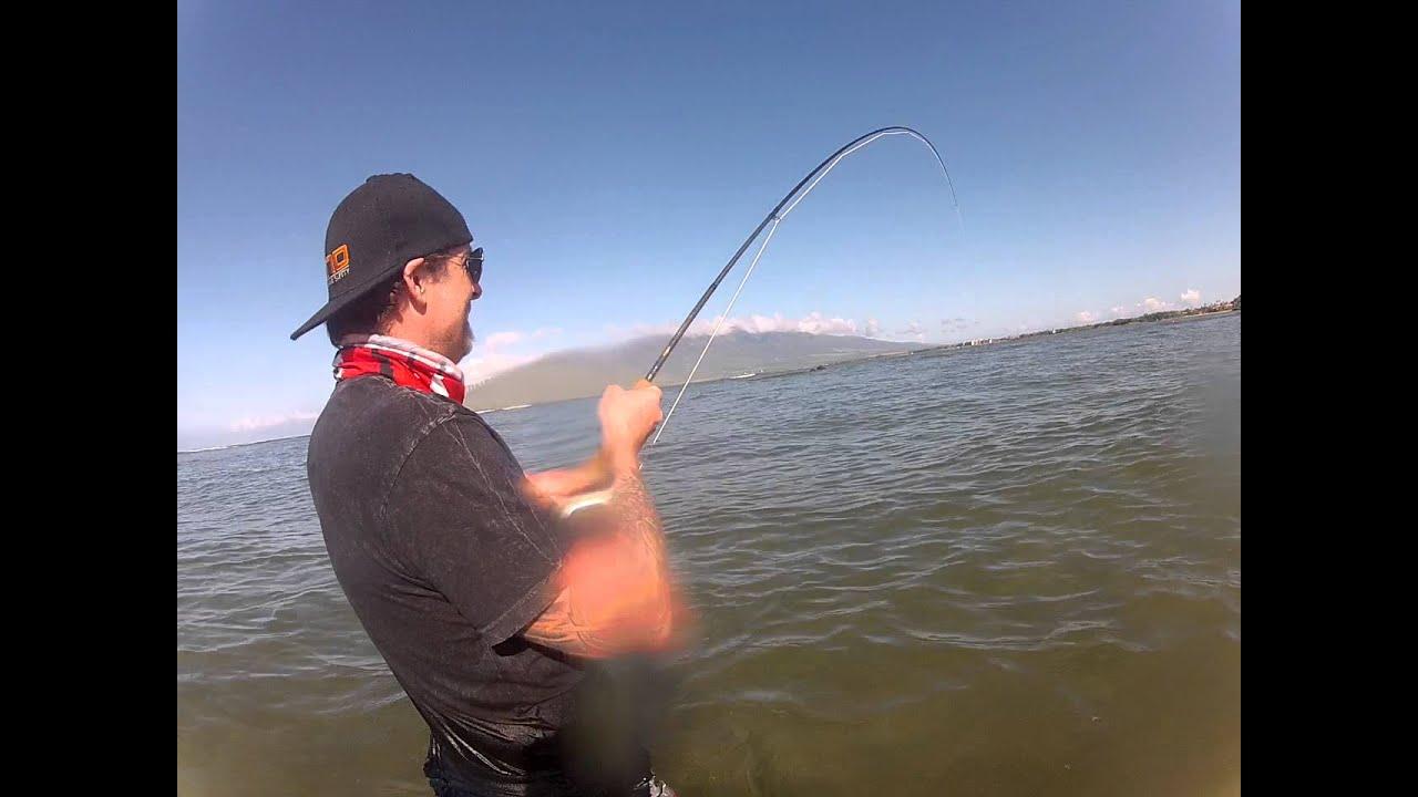 Bonefish maui fly fishing youtube for Maui fishing report