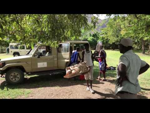 Setting Up Camp: Tanzania Camping Safari - Vlog 8