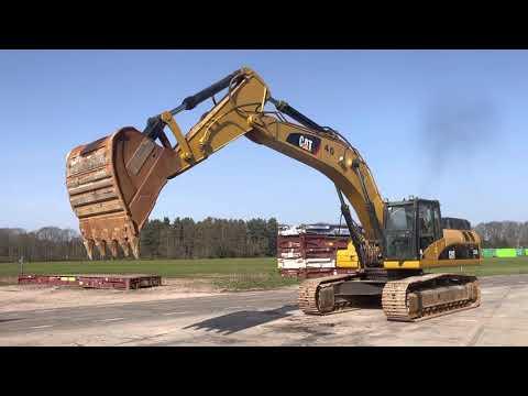 Used heavy machinery Caterpillar 336DL Kettenbagger