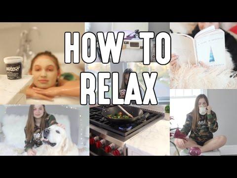 How to Relax/De-Stress (10 Ideas)