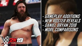 WWE 2K19 - No New Gameplay Additions? New Roster Reveals, Model Comparisons & More! (WWE 2K19 News)