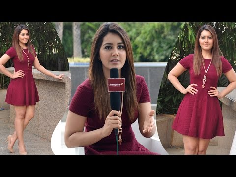 Rashi Khanna Singing Andamaina Lokam Song | IndiaGlitz Telugu Interview