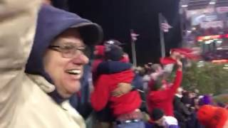 Perez 3-run homer in World Series Game 1 in Cleveland