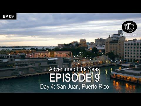 Adventure Of The Seas 2018   Day 4: San Juan, Puerto Rico   Episode 9