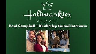 Hallmarkies: Actors Kimberley Sustad and Paul Campbell Interview