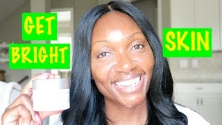 HOW TO BRIGHTEN YOUR SKIN and GET RID OF ACNE SCARS‼️