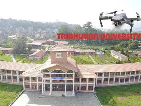 First Drone Exploration | Tribhuvan University