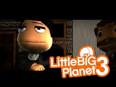 [Little Big Planet 3] SHERLOCK HOLMES Levels Funny Moments!