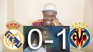 Barcelona Fan React To ● Real Madrid Vs Villarreal 0-1 ● All Goals & Highlights
