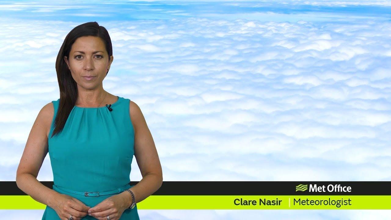 Friday morning forecast 18/06/2021