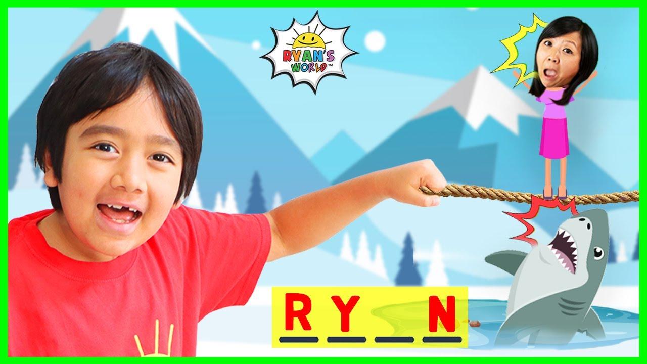 Download Ryan Plays HangMan Guess the Word game!
