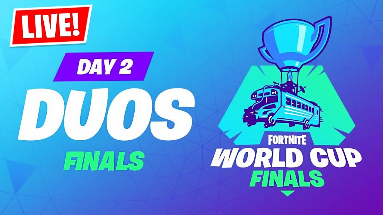 Fortnite WORLD CUP LIVE Duos Tournament Finals ...