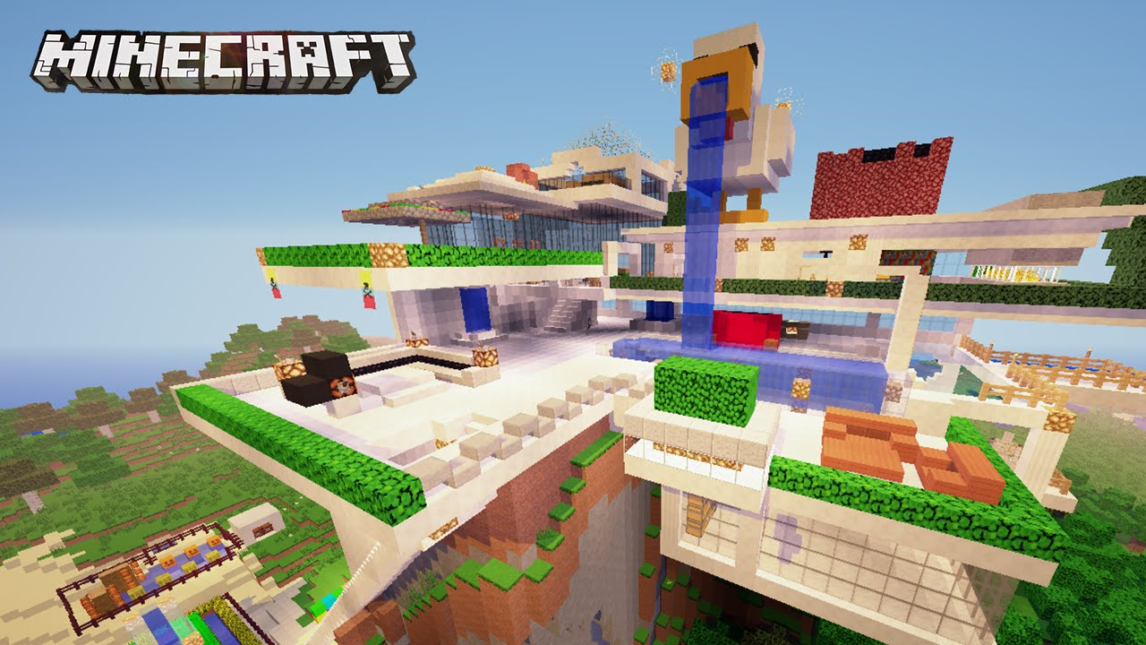 La casa moderna del pato gigante casas de subs en for Casas modernas grandes minecraft
