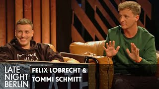 Felix Lobrecht & Tommi Schmitt: Geben Lifehacks für Podcast | Late Night Berlin | ProSieben
