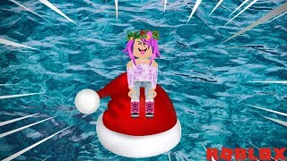 Roblox-MADE a SANTA'S CAP! (Build A Boat For Treasure)