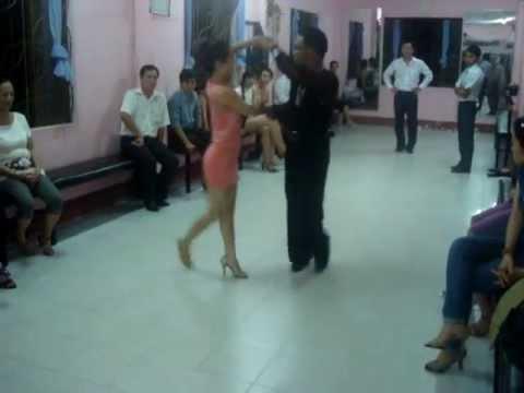 Tango Vũ sư Quốc Thắng & Dancer Ánh Nguyệt