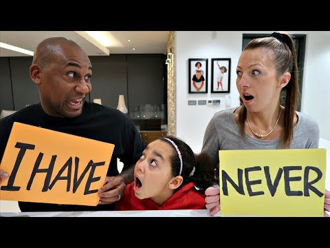 NEVER HAVE I EVER CHALLENGE! Mummy VS Daddy
