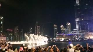 The Dubai fountain 5.12.2015