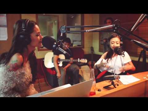 Rebecca Reijman Live At Hard Rock FM Indonesia - 2013