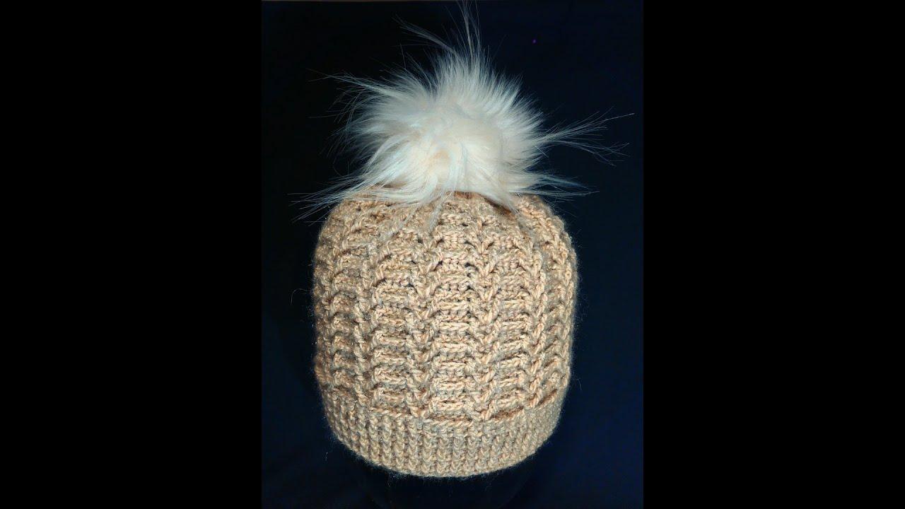 шапки женские крючком