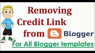 Remove Credit Footer From Blogger Template  Without Redirection - Demonstrated Sora-Ribbon