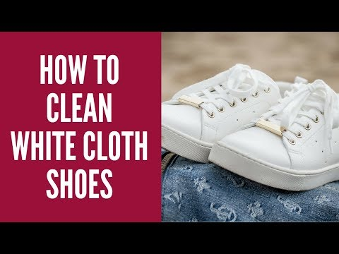 How To Clean White Cloth Shoes || Canvas, Vans and Converse | Shoes Tips