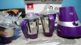 Unboxing Havells Gracia 750W 3 Jar Mixer Grinder | Hindi